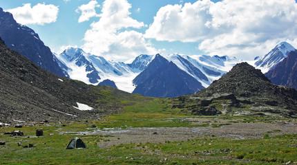 green regiment, Parking, Aktru, Altai