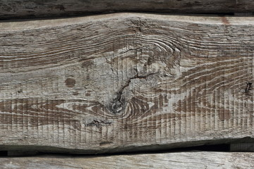 Old textured boards lying horozontally background