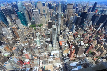 New York City - aerial view