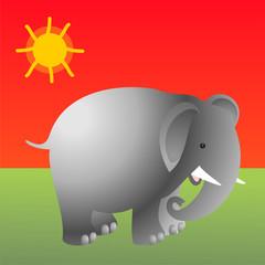 Elefante F ROJO