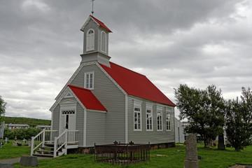 Holzkirche in Reykholt