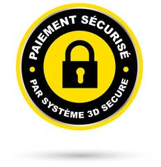 Paiement sécurisé par système 3D secure