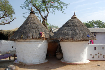 hut of indian village