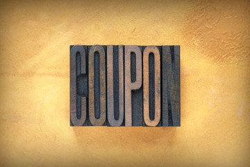 Coupon Letterpress