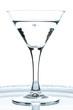 Glas mit Gin tonic und Kohlensäure