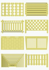 Decorative protection heaters.