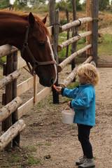 Girl & Horse II