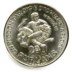 200 Furlans 1977 Friûl Moneta Friuli Terremoto Venzone Vençon