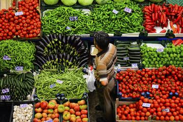 sebze satışı