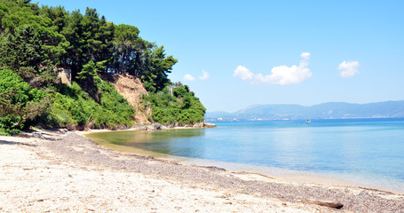 coast of the island of Corfu, Greece, Europe