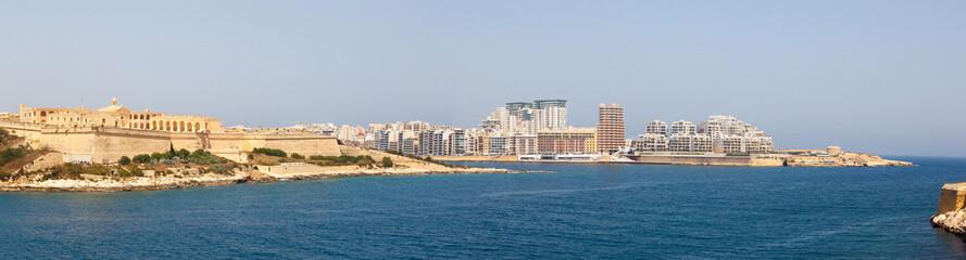 morning in Manoel Island Marsamxett Harbour