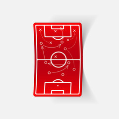 realistic design element: playing field