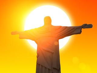 Sun in Brazil - abstract photo