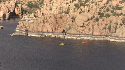 Watson Lake Prescott Arizona Kayaking