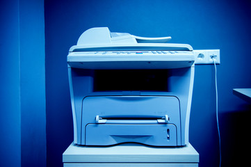 Office printer multi-functional device in modern office