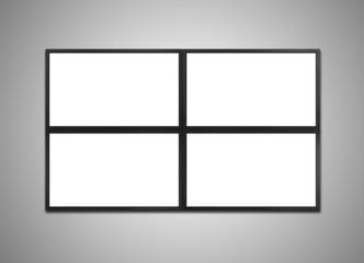 cctv monitor display for stock