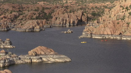 Kayaking Watson Lake Prescott Arizona