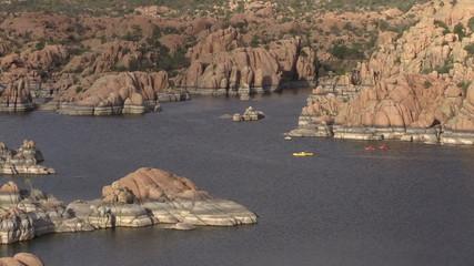 Kayaking Watson Lake Prescott Arizona