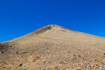 Teide volcano rocky peak