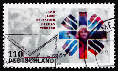 Postage stamp Germany 1997 Charitable Association