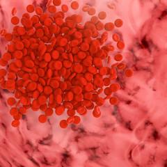 Blutzellen gehirn oberfläche