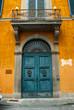 Porta in legno, ingresso vecchio palazzo signorile - 67505950