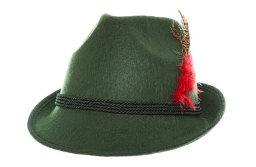 Green bavarian hat