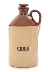 old vintage cider bottle