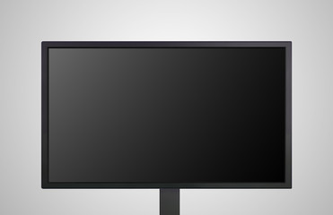 desktop Monitor display the black screen
