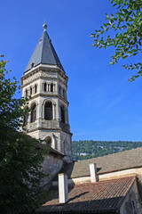 Nantua church, France