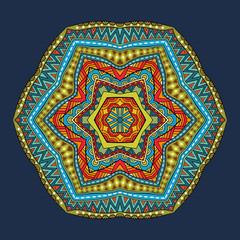Tribal Round Pattern