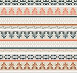 Seamless Ethnic Elements Pattern