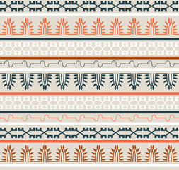 Seamless Ethnic Elements Pattern