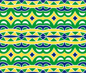 Incas Seamless Pattern