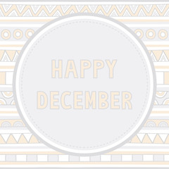 Happy December background1