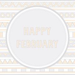 Happy February background1