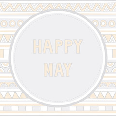 Happy May background1