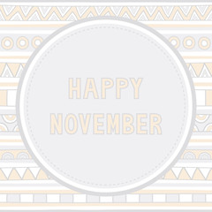 Happy November background1