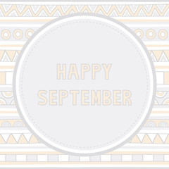 Happy September background1