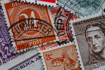 Briefmarke_Verschiedene_Sammlen