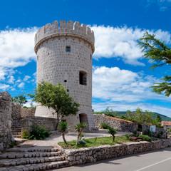 Creska Kula tower in Cres - Croatia