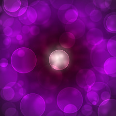 bokeh purple