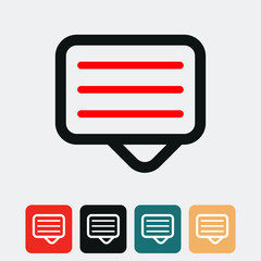 Message icon.