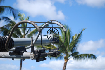 Anti Aircraft gun sight in pearl harbor