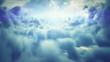 Flight over clouds (LOOP)