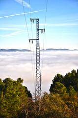 Valle de Alcudia en un mar de nubes, Ciudad Real