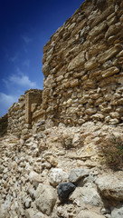 Italy, Sicily, Caucana, the ruins of the original greek port