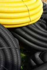 pipeline yellow and black