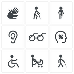 Disability Icon collection