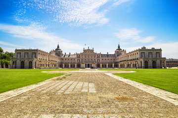 Royal Palace of Aranjuez, a residence of the King of Spain.